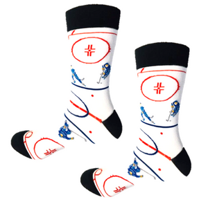 Hockey players crew socks