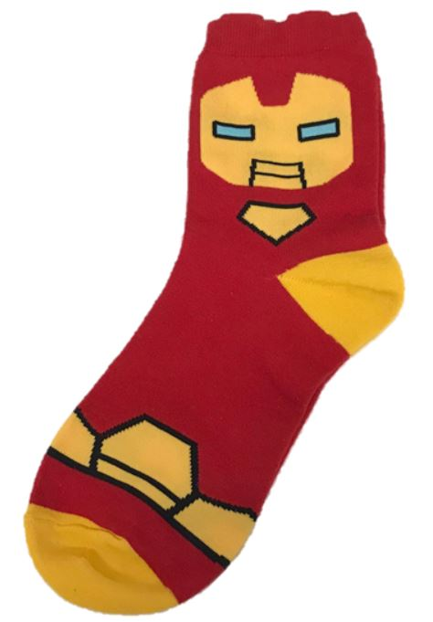 Iron Man Character ankle Socks