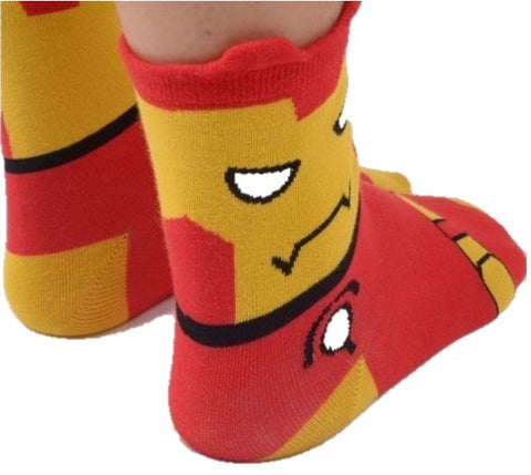 SUPERHERO IRON MAN ANKLE SOCKS