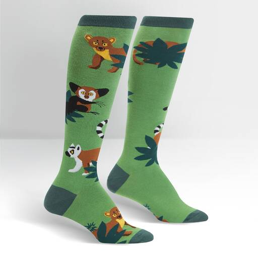 Madagascar Menagerie Knee High Socks Adults