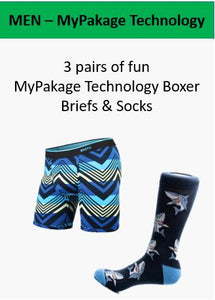 MyPakage Technology Holiday Gift Box Underwear and Socks