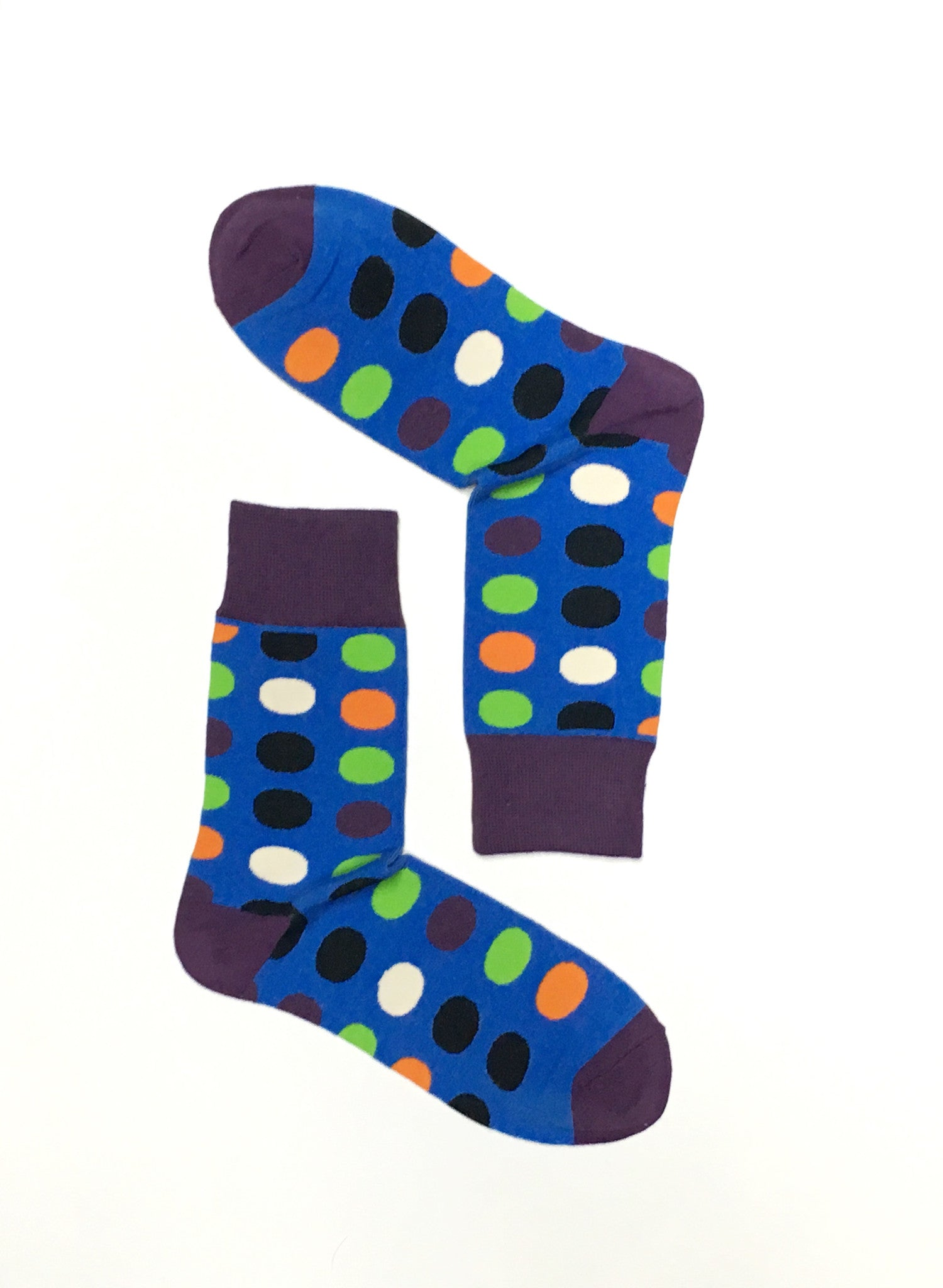 DOTS MULTICOLOURS CREW SOCKS