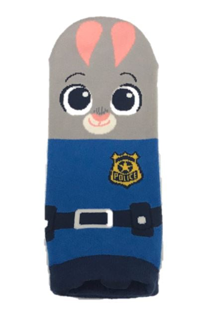 Police ankle socks