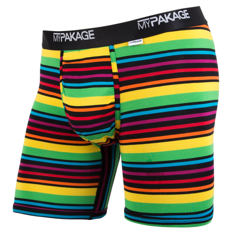 BRIGHT STRIPE | MyPakage Boxer Briefs