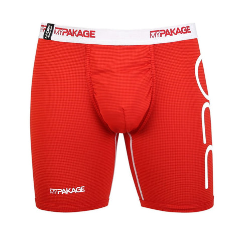 PRO SERIES RED/WHITE | MyPakage Boxer Briefs