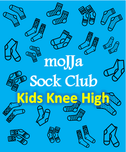 Sock of the Month Kids Knee High Subscription Club