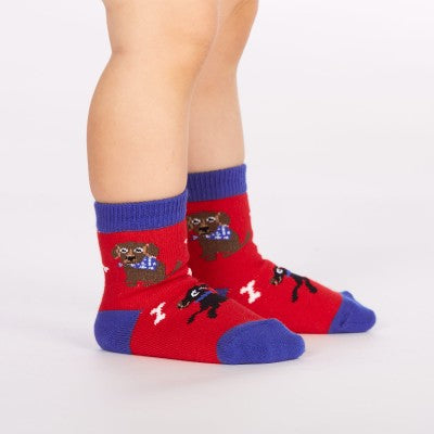 DOG crew socks for toddlers