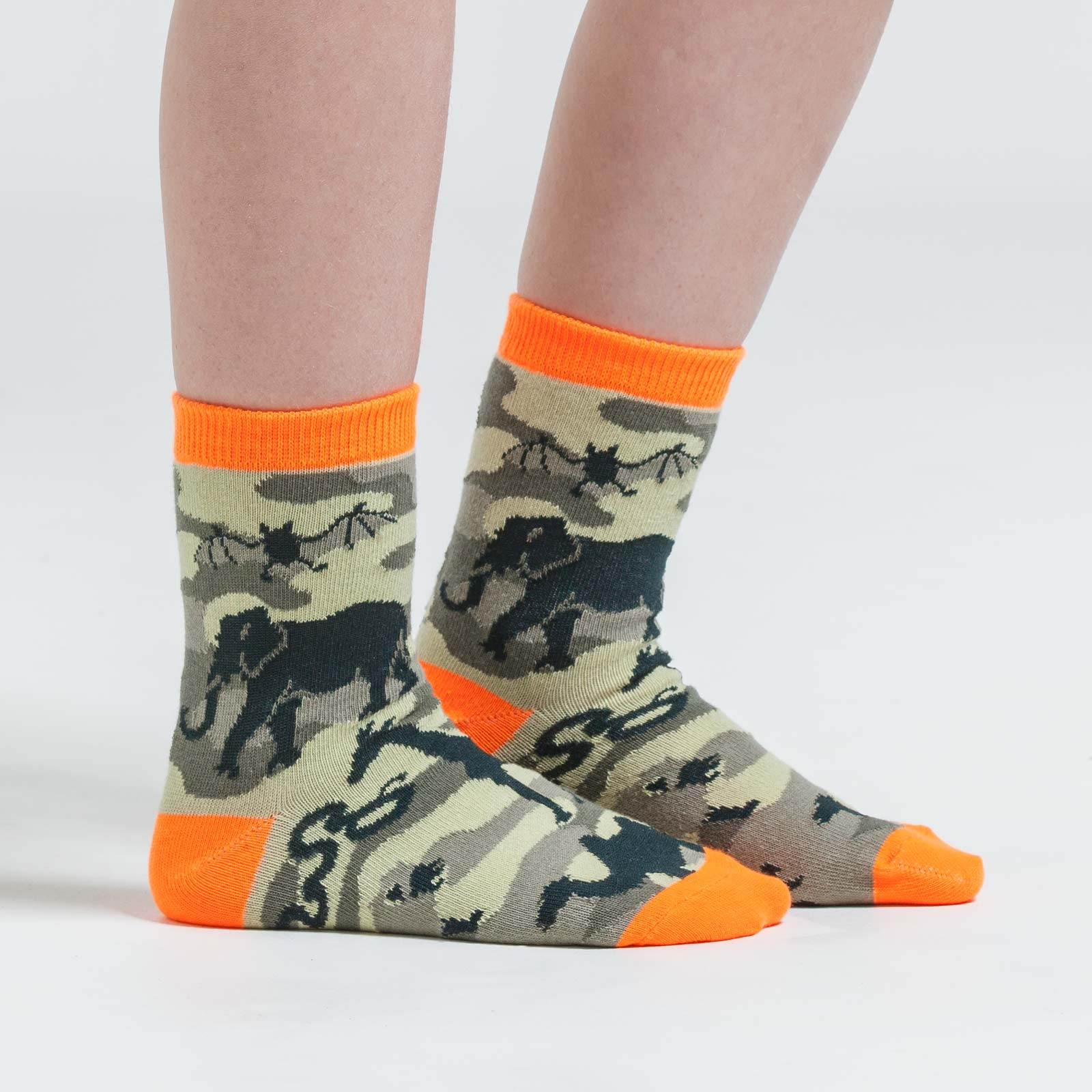 Animal Cameo Funky crew socks