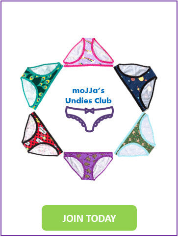 moJJa's Undies Club | Panties Subscription