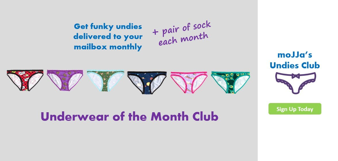 Panties Subscription | moJJa's Undies Club