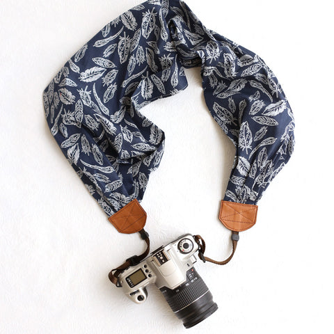 scarf camera strap free as a bird - BCSCS016