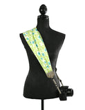 scarf camera strap bunch of blooms - BCSCS110