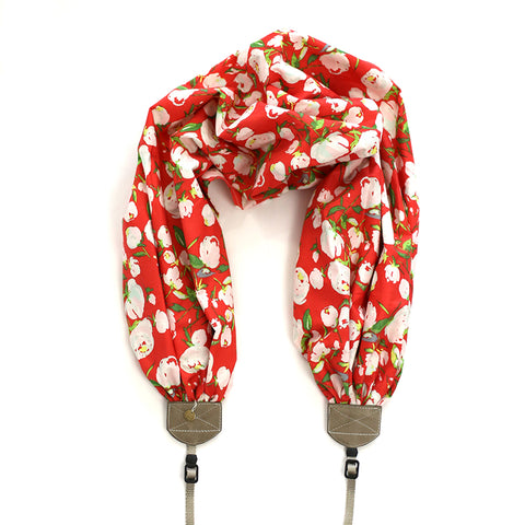 scarf camera strap warm cotton - BCSCS139