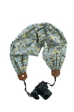 scarf camera strap winter solstice - BCSCS116