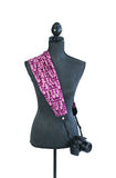 scarf camera strap spiced plum - BCSCS124