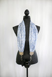 scarf camera strap autumn blue - BCSCS140