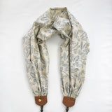 scarf camera strap feathered flight - BCSCS145