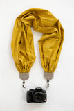 scarf camera strap golden picket - BCSCS146