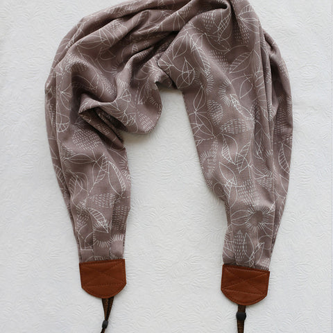 scarf camera strap grey skies autumn weather - BCSCS080