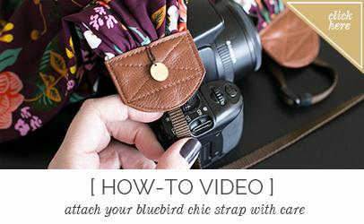 Scarf Camera Strap - Be Bold | Bluebird Chic, LLC