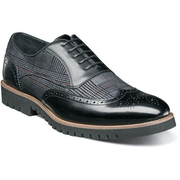 Stacy Adams Mens Baxley Wingtip Oxford 25217