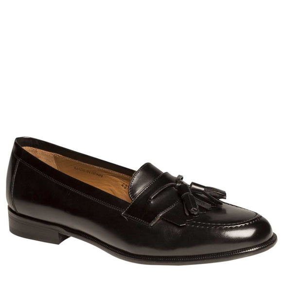 Mezlan Men's Santander Italian Calissic Kiltie Tassel Slip-on Loafers 0544