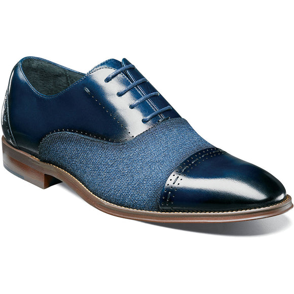 Stacy Adams Mens Barrington Cap Toe Oxford 25222