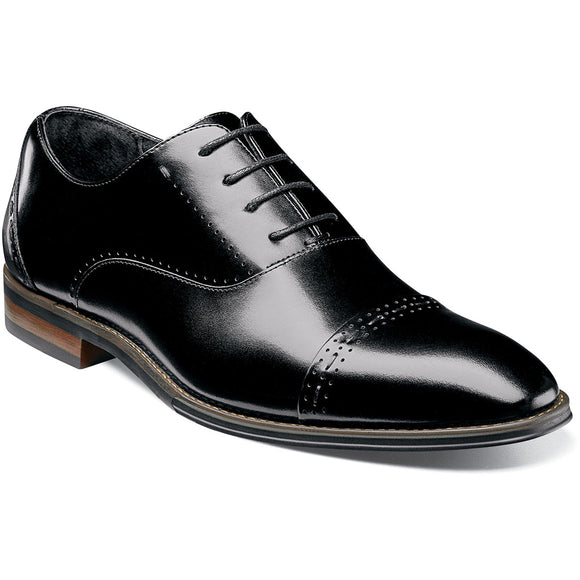 Stacy Adams Mens Barris Cap Toe Oxford 25190