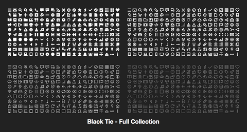 Black Tie - Full Collection