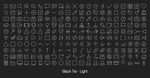 Black Tie - Light