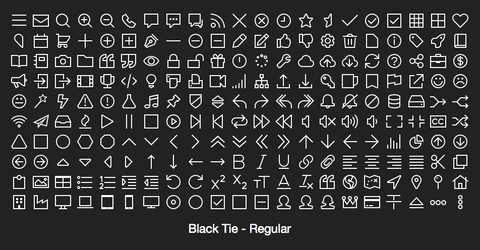 Black Tie - Regular
