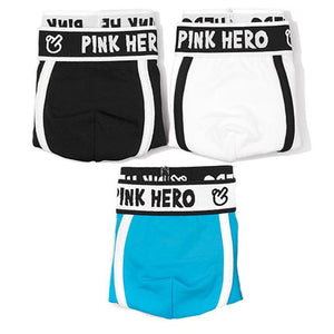 3 PCS Breathable Boxer-Brief Underwear-Underwear-Guy Jewels