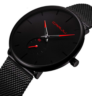 Classic Waterproof Watch with Colored Pointer-Watch-Guy Jewels
