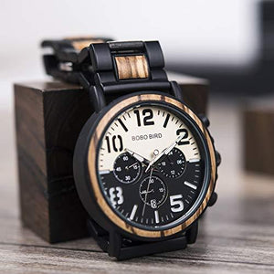 Men's Wooden Military Watch-Watch-Guy Jewels