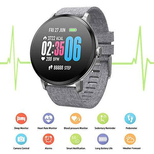Water Resistant Fitness Tracking Smart Watch-Watch-Guy Jewels