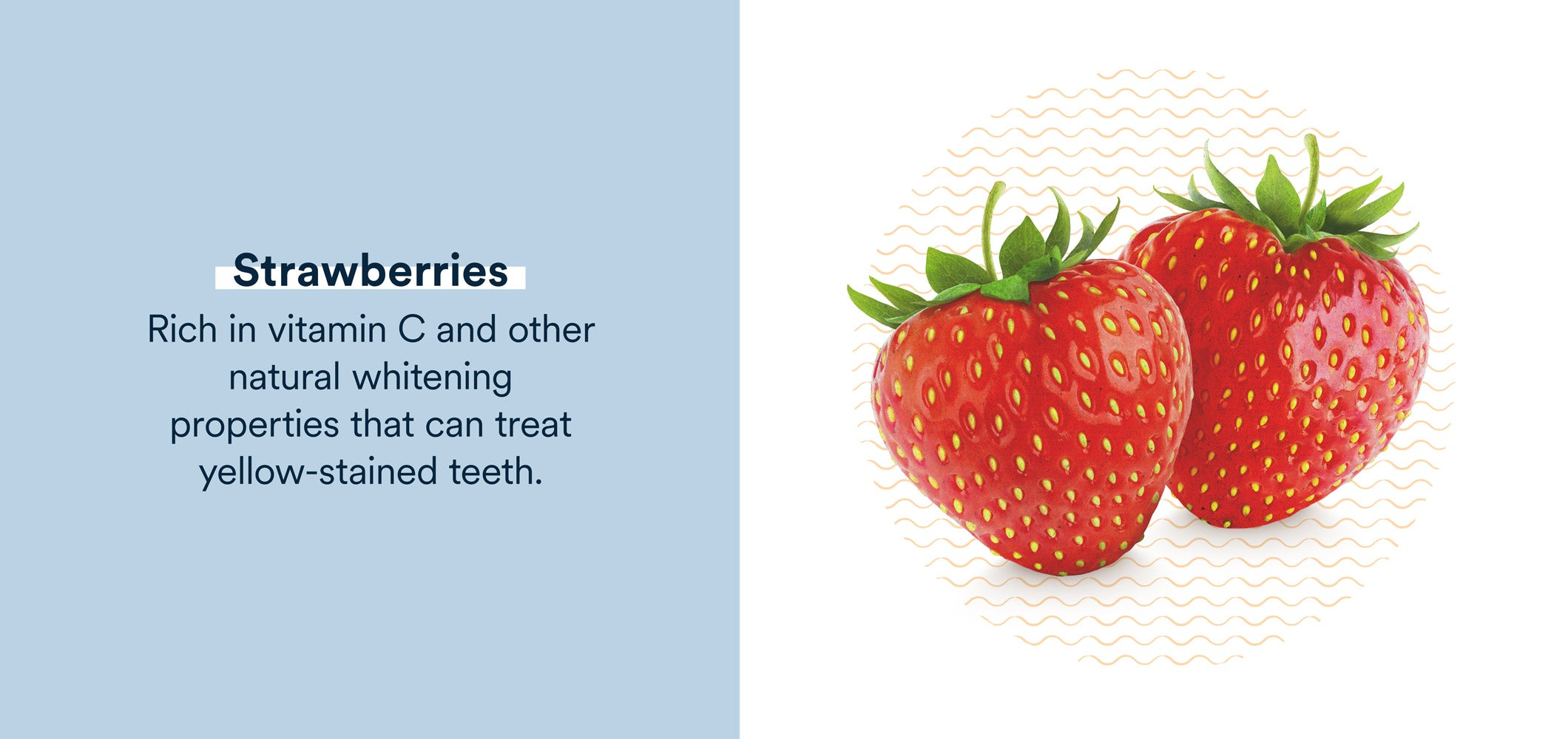 strawberries are rich in vitamin c and other natural whitening properties