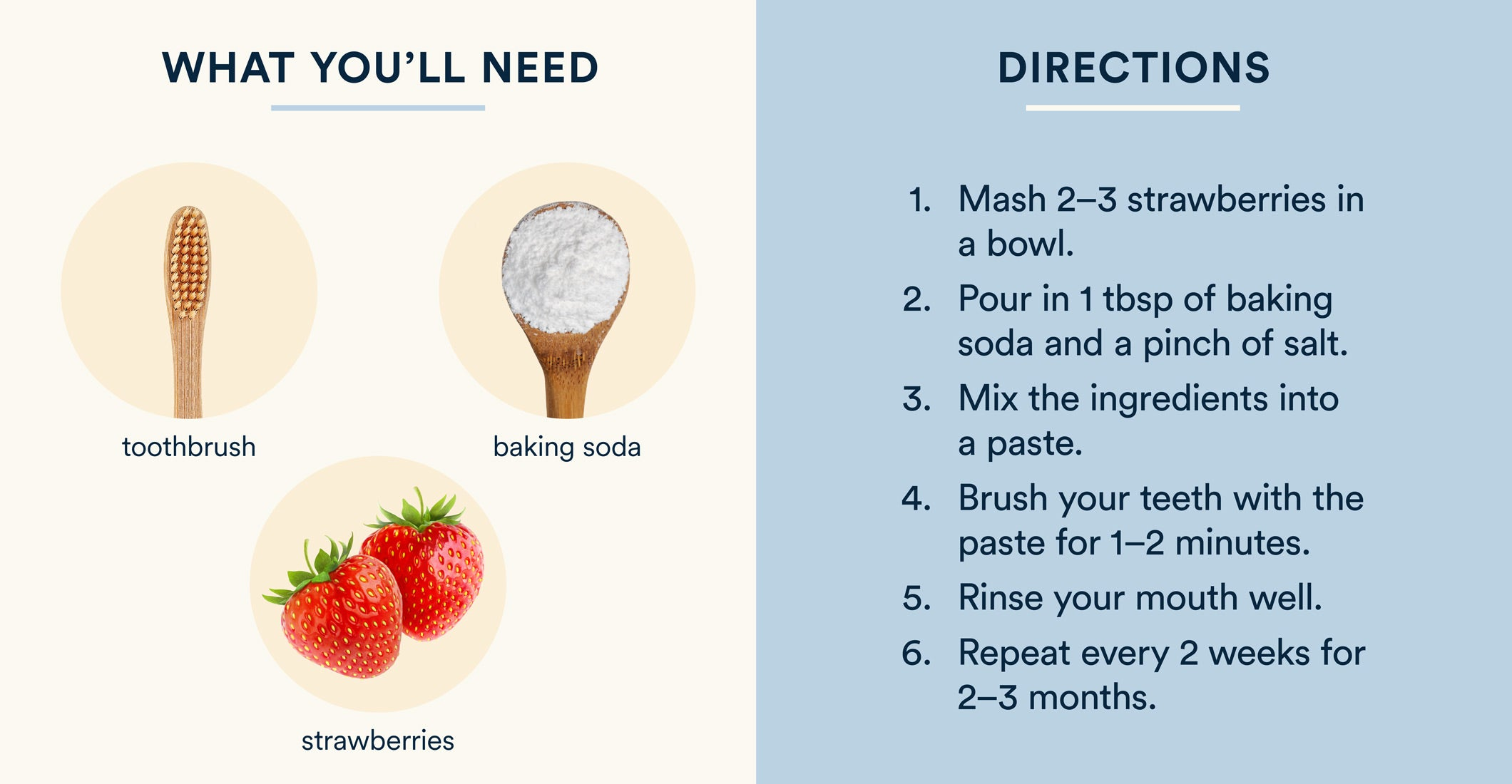 how to whiten teeth with baking soda and strawberries