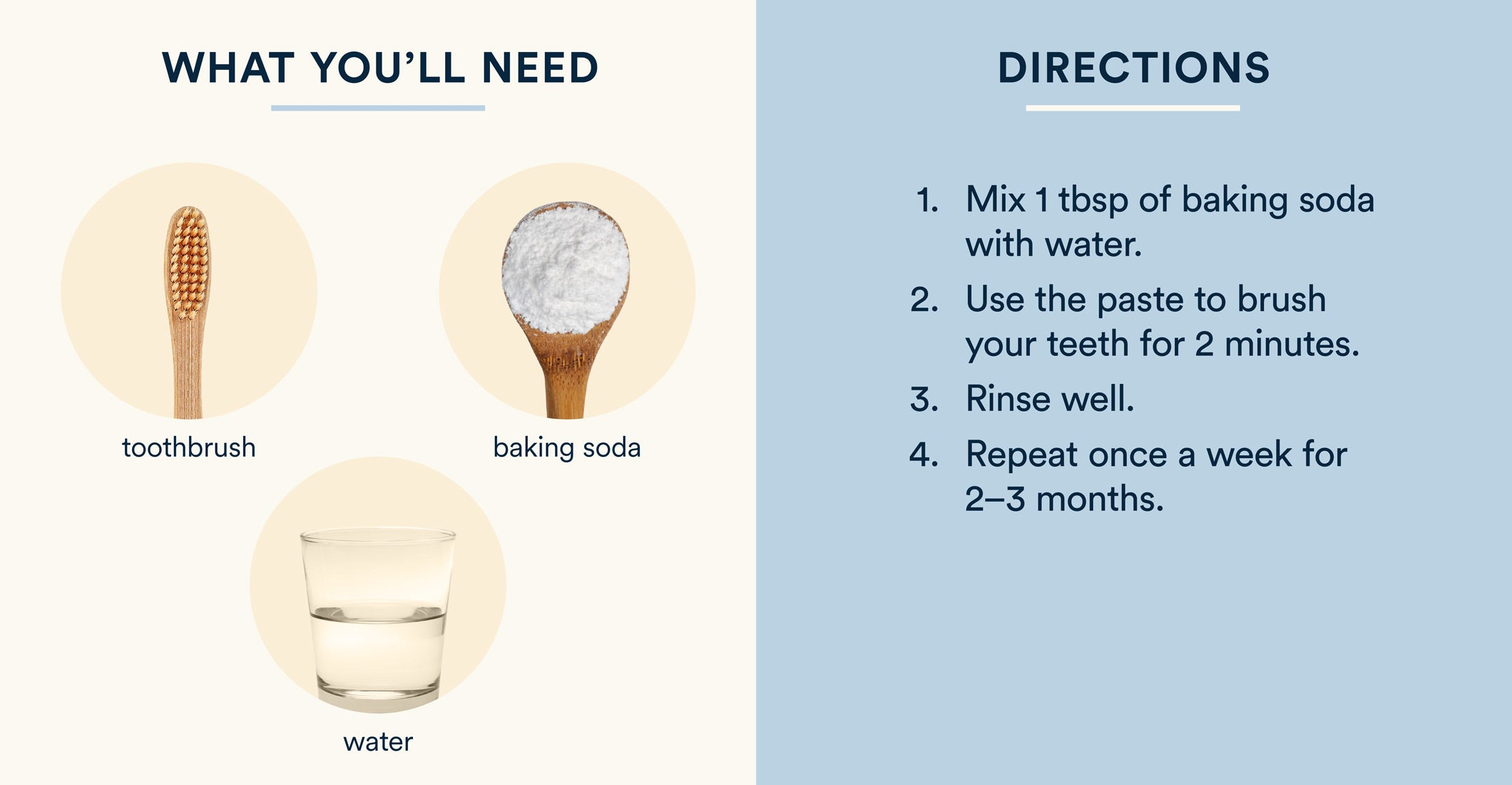 baking soda and water teeth whitening instructions