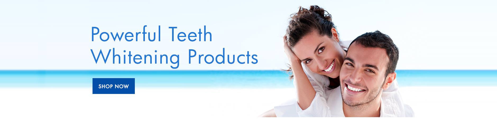 LED teeth whitening products