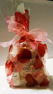 Bar of Soap & Lip Balm in a Gift Bag