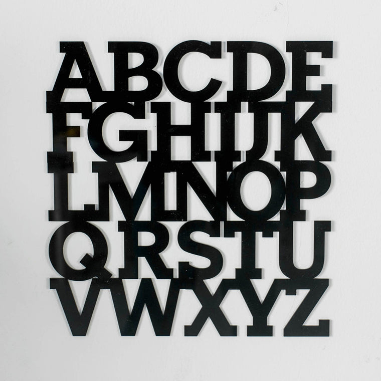 ABC Uppercase Set - Wall Decor