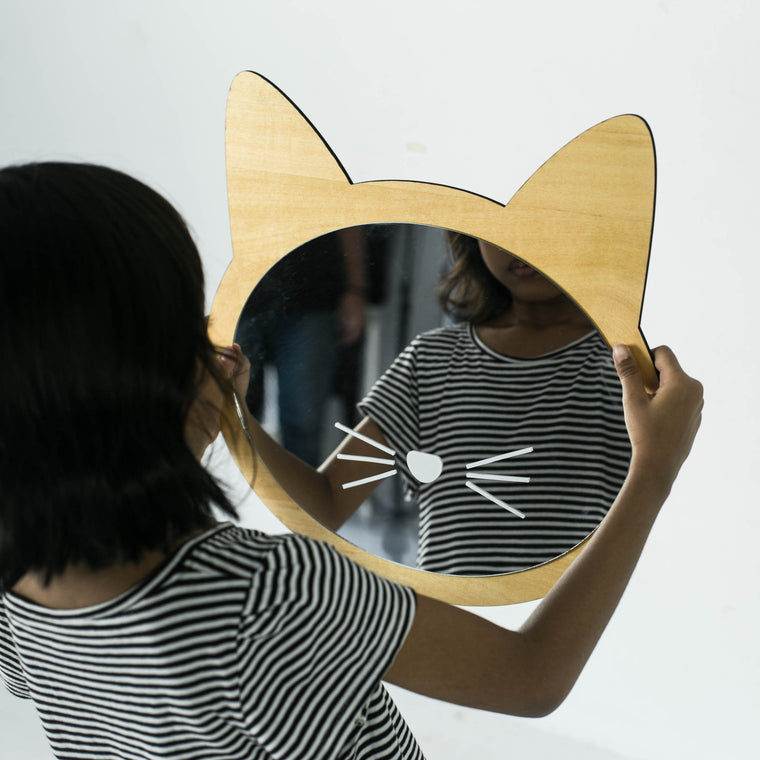 Cat - Kids Mirror