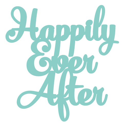 Happily Ever After f8 [Wedding Topper]
