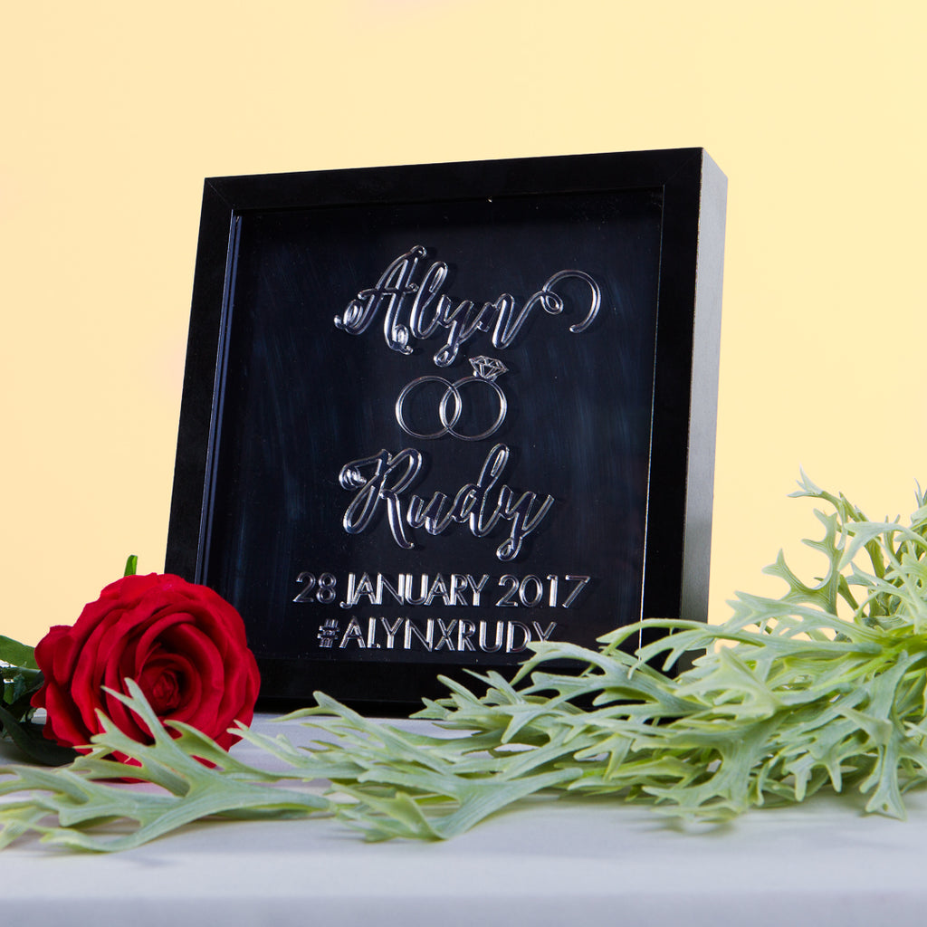 New - Wedding Frame