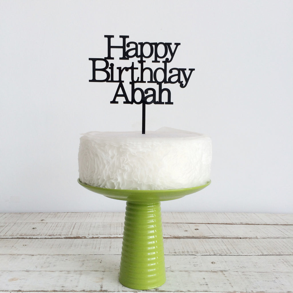 New - Happy Birthday Abah