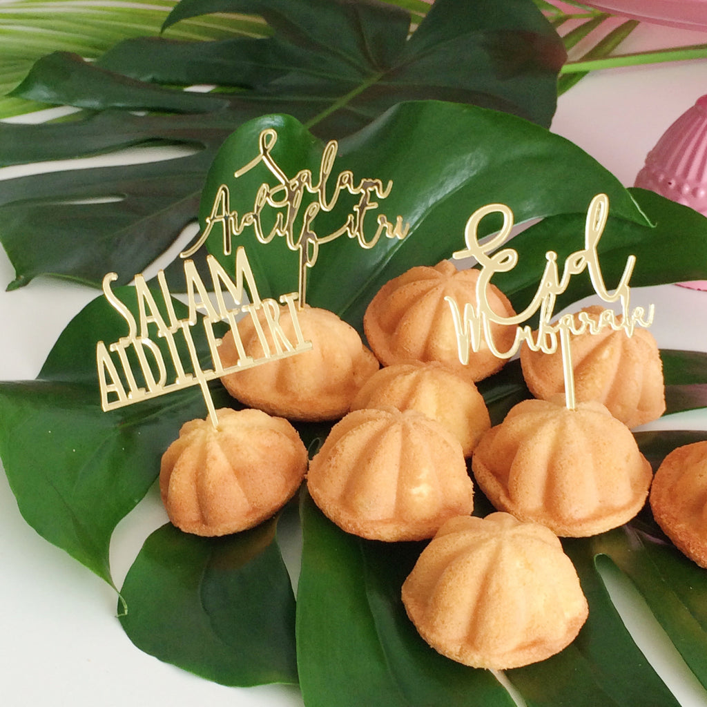 Raya 2017 - Tiny Topper - 10 pcs