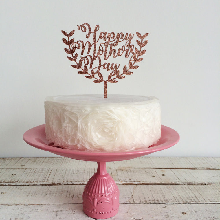 Happy Mother's Day with Perry Fern [Cake Topper]