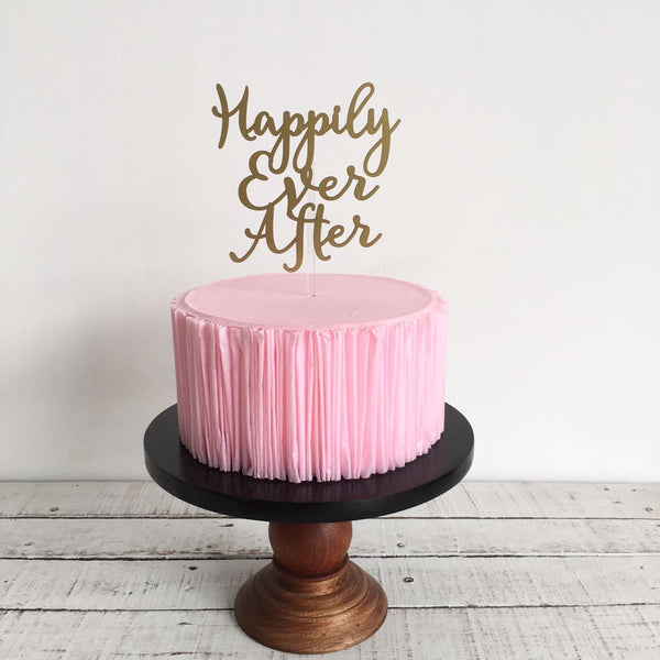 Happily Ever After F11 WeddingTopper