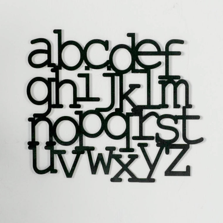 ABC Lowercase Set