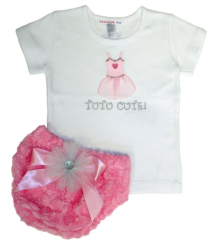 Tutu Cute - Pink - Rosey Bum Set